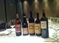 Wines to pair; 8 ½ Otto e Mezzo BOMBANA